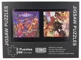 Santana - Supernatural/Abraxas Double Jigsaw Puzzles Set Quebra-cabeça