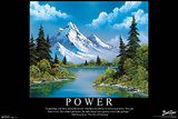 Bob Ross - Power Poster