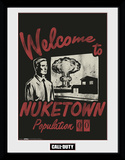 Call Of Duty Welcome to Nuketown Collector Print