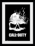 Call Of Duty - Logo Skull Samletrykk