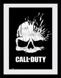 Call Of Duty - Logo Skull Collector Print