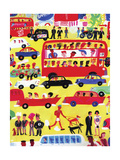 View of Road Traffic Prints by Chris Corr