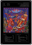 Santana - Supernatural Blikkskilt