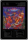 Santana - Supernatural Blechschild