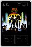 KISS - Love Gun Blikkskilt