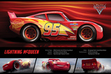 Cars 3 - (Lightning Mcqueen Stats) Posters
