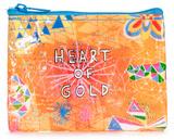 Heart Of Gold Coin Purse Porta-moedas