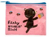 Filthy Stinkin' Rich CoinPurse Porta-moedas