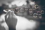 Pop of Color Rainbow Love Bubbles Poster von  Color Me Happy