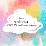 Try to be a Rainbow II Póster por  Quote Master