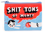 Shit Tons of Money Coin Purse Porta-moedas