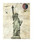 Liberty Balloon Julisteet tekijänä Marion Mcconaghie