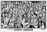 Country Jamboree - Howard Teman Kunstdruck