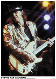 Stevie Ray Vaughan Kunstdruck