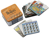 Beatles - Albums Collage 10 pc. Coaster Set with Tin Storage Box Coaster