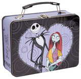 The Nightmare Before Christmas - Jack & Sally Tin Lunch Box Lunch Box