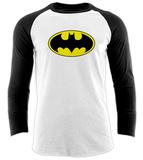 Raglan: Batman - Logo Raglans