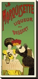 La marquisette liqueur de dessert Pingotettu canvasvedos tekijänä Leonetto Cappiello