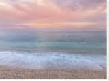 Tranquil Tides Bedruckte aufgespannte Leinwand von Assaf Frank
