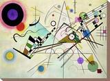Composition VIII Reproducción de lámina sobre lienzo por Wassily Kandinsky