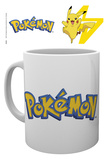 Pokemon - Logo and Pikachu Tazza