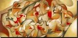 Estate Stretched Canvas Print by Laura Ceccarelli