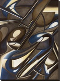Due di due Stretched Canvas Print by Laura Ceccarelli