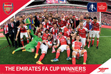 Arsenal FC – FA Cup Winners Plakater
