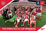 Arsenal FC – FA Cup Winners Kunstdruck