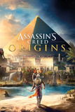 Assassins Creed - Origins Cover Kunstdrucke