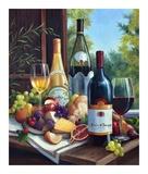 Still Life with Wines Kunstdrucke von Barbara Felisky