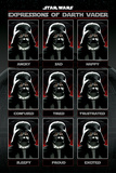 Star Wars - Expressions Of Darth Vader Foto