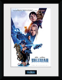 Valerian -  Compilation One Sheet Collector Print
