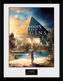 Assassins Creed -  Origins Cover Lámina de coleccionista