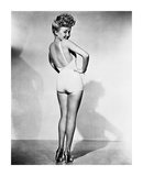 Betty Grable 1944 WWll Pinup Girl Poster by  Hollywood Historic Photos