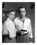 Lauren Bacall and Humphrey Bogart in 'Key Largo' 1948 Art by  Hollywood Historic Photos