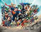 Dc Universe Rebirth Prints