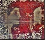 Shadows (splitting) Stretched Canvas Print by Dalibor Davidovic