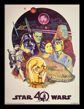 Star Wars 40th Anniversary - Characters Collector-tryk