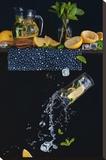 Lemonade From The Top Shelf Pingotettu canvasvedos tekijänä Dina Belenko
