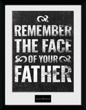 """La torre nera - Mug """"Remember the face"""" (Ricorda il volto di tuo padre) Stampa del collezionista"""