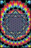Sacred geometry (farverig geometri) Posters