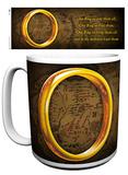 Le Seigneur des Anneaux - One Ring (Mug de 0,59 L, Saga, Film) Mug