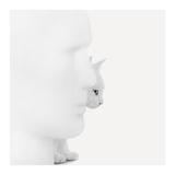 Mystique (Poster photographique, Noir et Blanc, Homme, Chat, Statue, Vue de profil) Affiches par Jon Bertelli