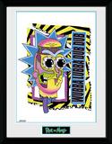 Rick & Morty - Tazza pazza (crazy) Stampa del collezionista