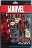 Deadpool, figurine sous blister (Marvel Comics, Super-héros) Affiche