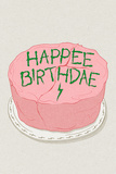Happee Birthdae - Gâteau d'anniversaire d'Harry Potter (Poster) Affiche