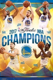 2017 Nba Finals -  Warriors Champions Posters