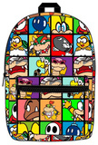 Nintendo Super Mario - Villains Sublimated Backpack Backpack