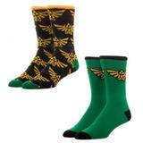 Nintendo Zelda - 2 Pack Crew Socks Socks